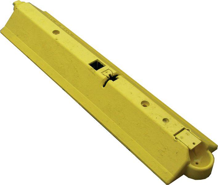 Séparateurs de voies jaunes/noirs