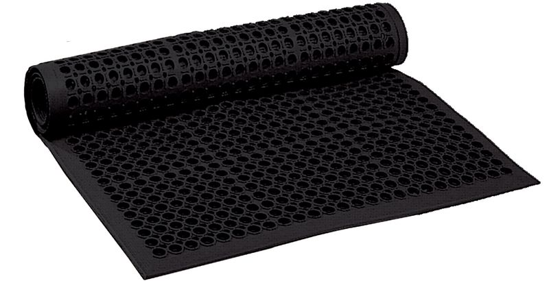 Tapis anti-fatigue caillebotis