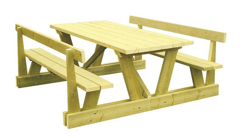 Table avec ou sans dossier