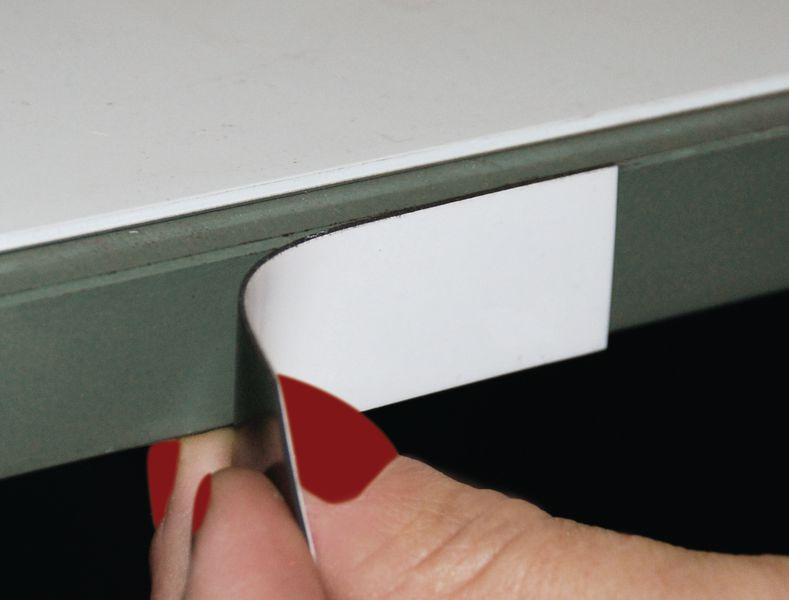 Etiquette magnétique de couleur