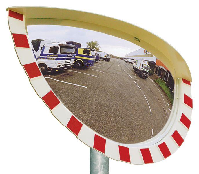 Miroirs incassables Industrie, logistique 3 directions