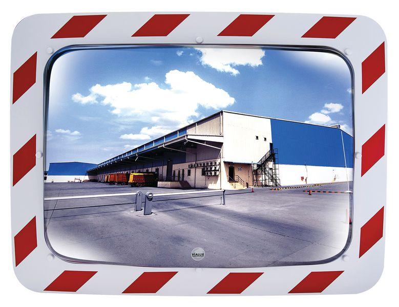 Miroirs incassables Industrie, logistique 2 directions (photo)