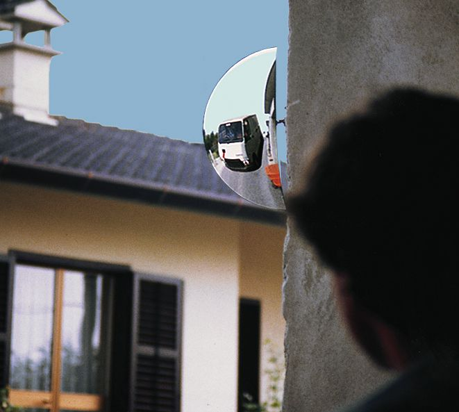 Miroirs vision grand angle CONTROLE : 3 directions (photo)