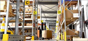 L'organisation logistique de l'entrepôt