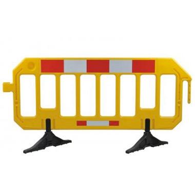 Barrières mobile haute visibilié