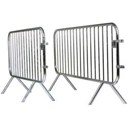 Barrière amovible de protection en galva 18 barreaux'