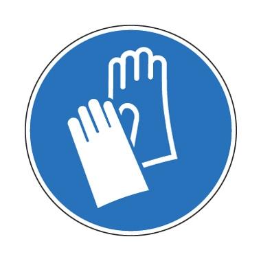 Panneau Port obligatoire des gants