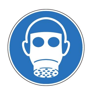 Panneau Port obligatoire du masque respiratoire