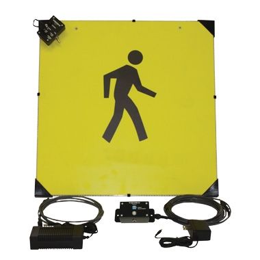 Panneaux LED anti-collision