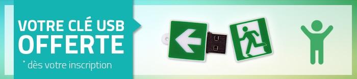 Votre clé USB offerte