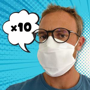 Masque 4 couches tissu CAT.1
