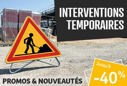 Interventions temporaires