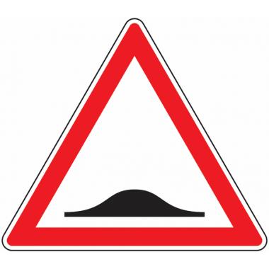 Panneau Europ Ralentisseur de type dos-d'âne'