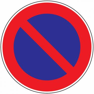 Panneau Alu Stationnement interdit'