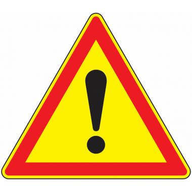 Panneau Galva Attention Danger