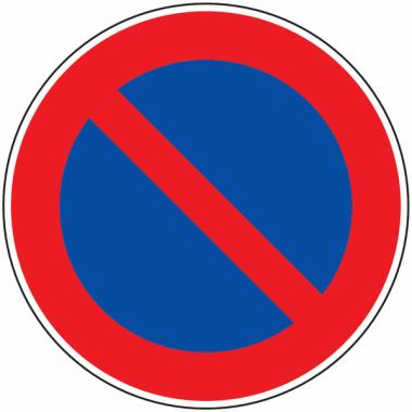 Panneau Galva Stationnement Interdit