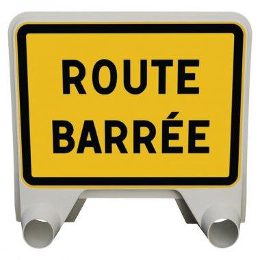 Panneau Mistral Route barrée