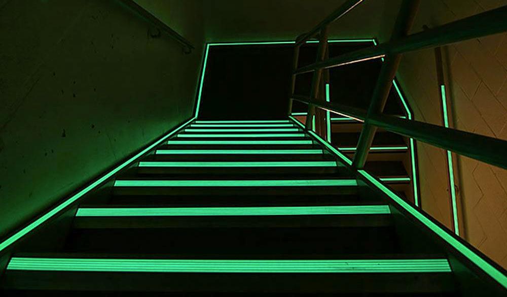 escalier photolum