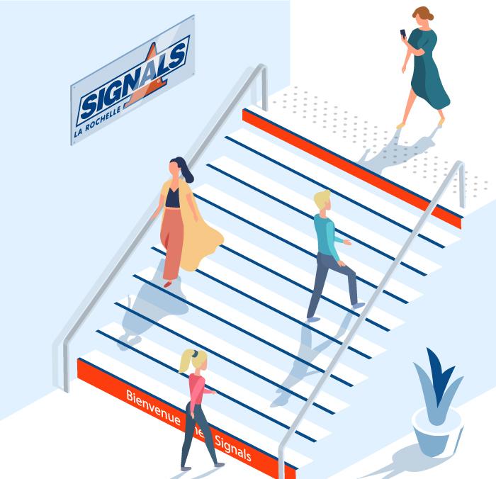 escaliers règles