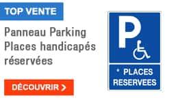 TOP VENTE - Panneau Parking Places handicapés réservées