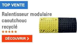 TOP VENTE - Ralentisseur modulaire caoutchouc recyclé
