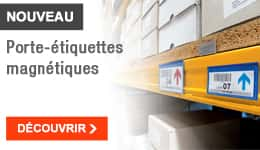 NOUVEAU - Porte-étiquettes magnétiques