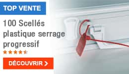 TOP VENTE - 100 Scellés plastique serrage progressif