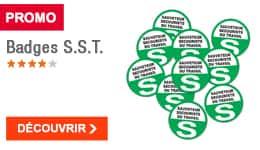 PROMO - Badges S.S.T.