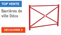 TOP VENTE - Barrières de ville Déco