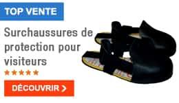 TOP VENTE - Surchaussures de protection pour visiteurs
