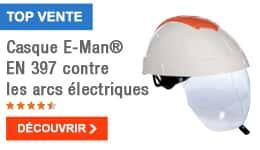 TOP VENTE - Casque E-Man® EN 397 contre les arcs électriques
