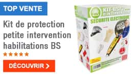 TOP VENTE - Kit de protection petite intervention habilitations BS
