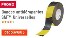 PROMO - Bandes antidérapantes 3M™ Universelles