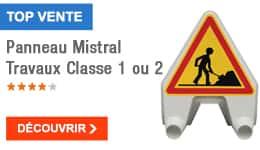 TOP VENTE - Panneau Mistral Travaux Classe 1 ou 2