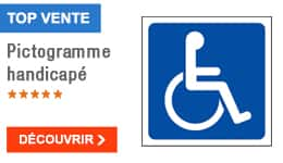 TOP VENTE - Pictogramme handicapé