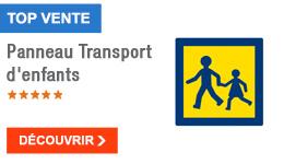 TOP VENTE - Panneau Transport d'enfants
