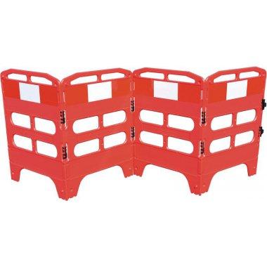 Barrières pliantes 3 ou 4 panneaux