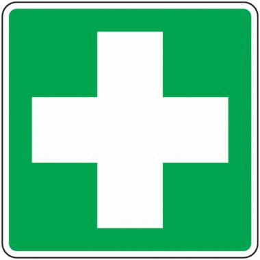 Panneau premiers secours