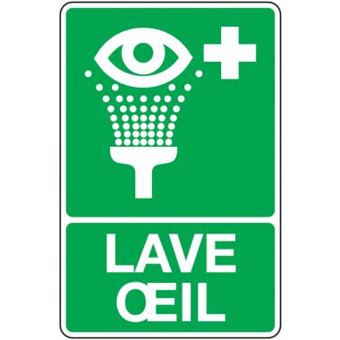 Panneau PVC Lave-oeil'