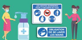 Protection contre les virus - Gestes barrières