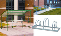 Bicycle Racks & Shelters