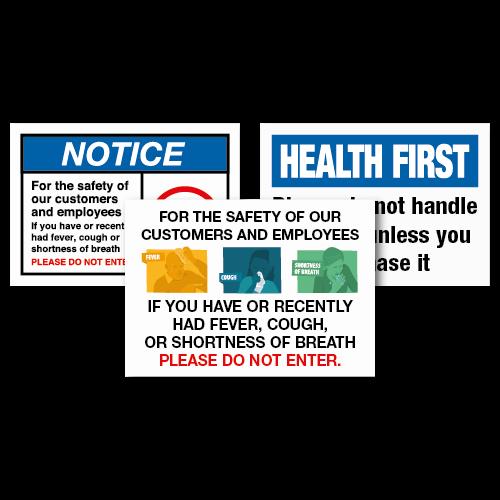 Coronavirus Information Signage