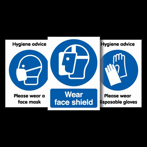 Wear PPE Signage