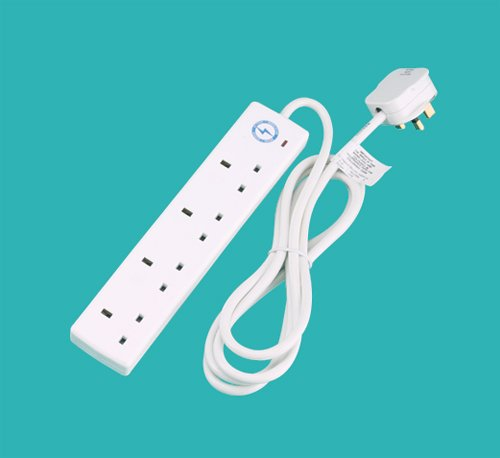 Surge protected extension leads to combat harmful power surges