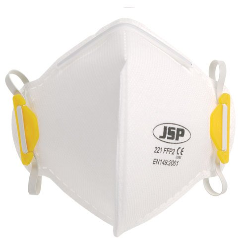 FFP2 Non Valved Deluxe Disposable Fold Flat Masks