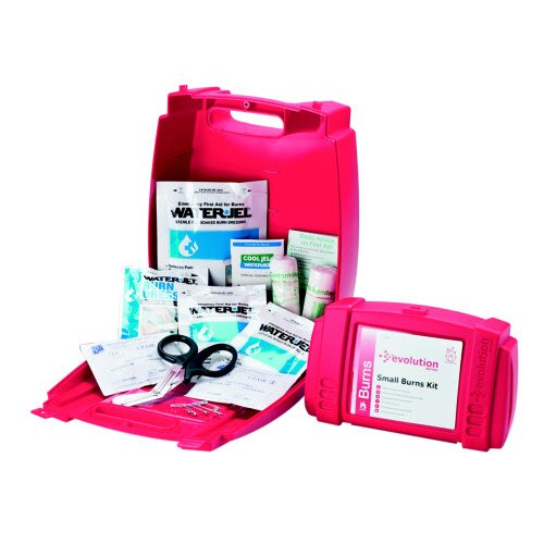 Professional Water Jel Complete Burns First Aid Kit with Guidance Leaflet