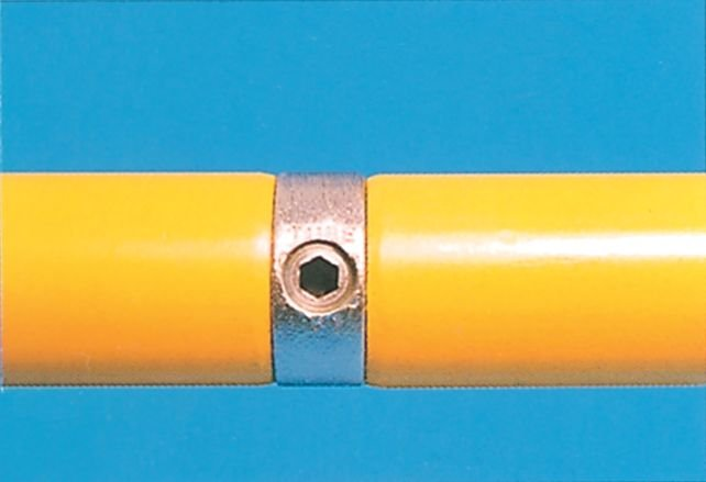 Modular Barrier - Internal Joint Galvanised Clamp