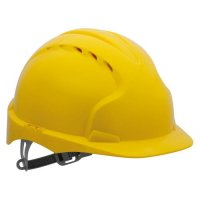 JSP EVO2 High-Density Polyethylene Safety Helmet with Cooling Vents