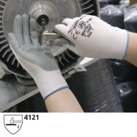 Polyco Matrix F Grip Foamed Nitrile-Coated Gloves with Seamless Lining