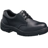 Lightweight leather safety shoes